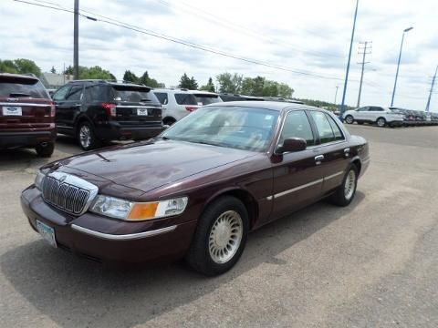 2001 MERCURY GRAND MARQUIS 4 DOOR SEDAN