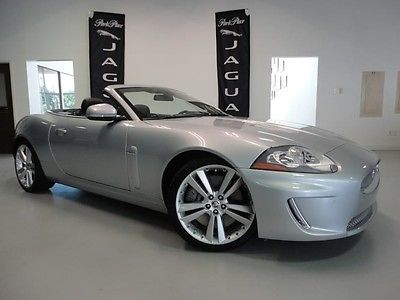 Jaguar : XK Convertible CERTIFIED Navigation Bluetooth Heated and Cooled Seats