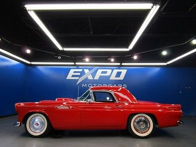 Ford : Thunderbird 1955 ford thunderbird classic cassette player hard top low miles
