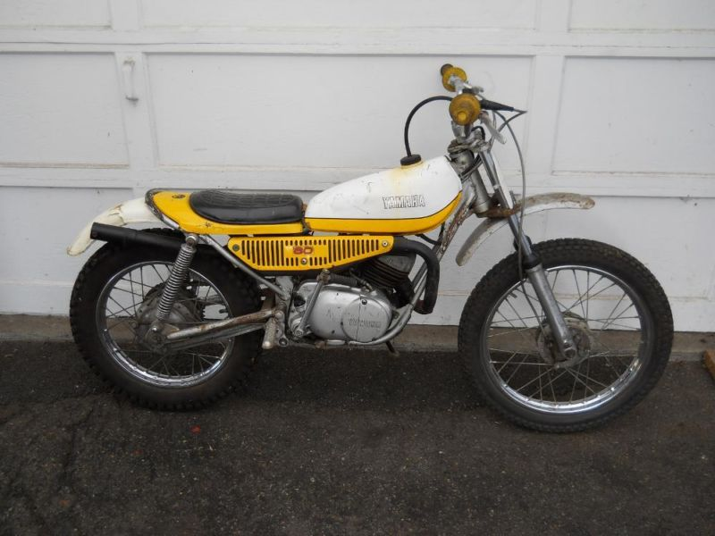 1974 yamaha ty80 motorcycles for sale for Yamaha trials bike