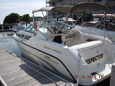 1998 Chaparral 27' Signature with 2011 loadrite trailer