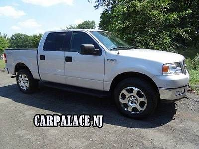Ford : F-150 XLT 4dr SuperCrew 4WD Styleside 5.5 ft. SB 2005 ford f 150 low mile one owner no accidents