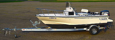 1997 Boston Whaler 17 Outrage II, Yamaha 115 SW Series LoadRite trailer