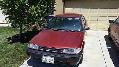 Toyota : Corolla 4 door Sedan Toyota Corolla Dependable , auto tran, great on gas...no air conditioning.