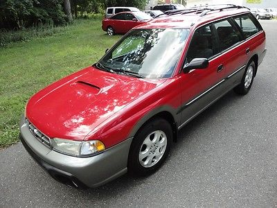 Subaru : Legacy Outback Wagon 4-Door 1999 subaru legacy outback awd rare 5 speed manual extra clean 96 k low low miles