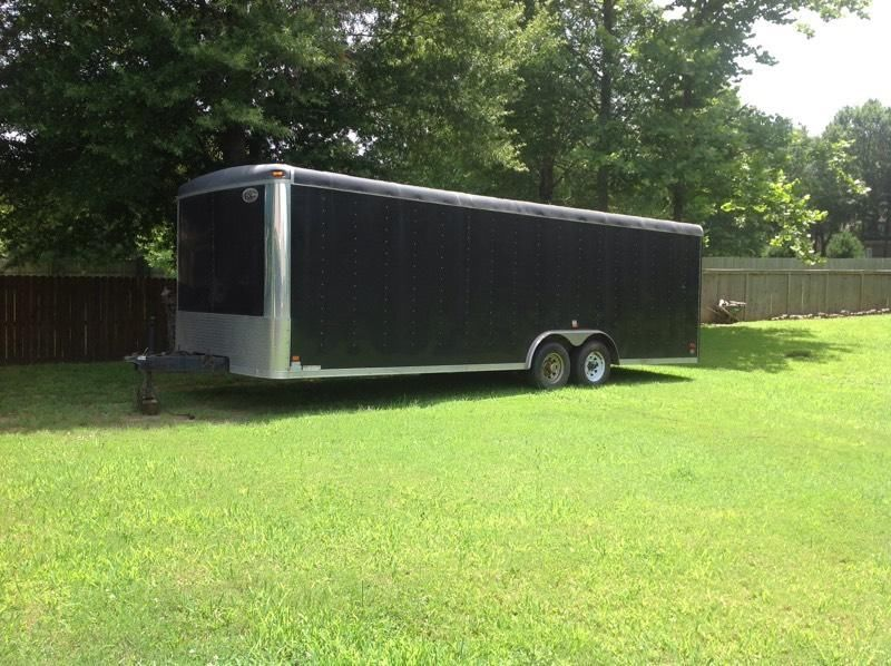 24 foot race car trailer for sale $4000