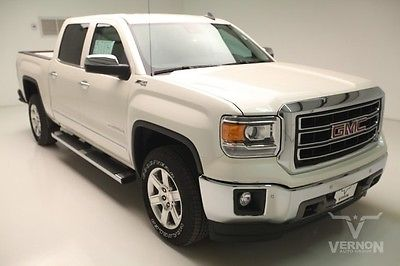 GMC : Sierra 1500 SLT Crew Cab 4x4 Z71 2015 navigation leather heated cooled rear camera v 8 ecotec vernon auto group