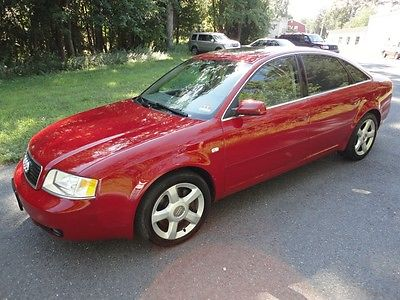 Audi : A6 2.7t  Quattro 6-spd ~ Fully Serviced ~ 85 Pics 2003 audi a 6 quattro 2.7 t sport pkg 6 speed rs 4 clutch pdc 85 pics