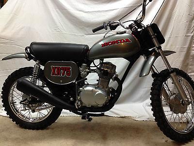 Honda : XR 1973 honda xr 75