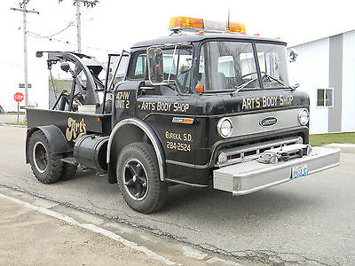 Other Makes : RARE CAB OVER ENGINE FORD 600 WRECKER 1978 ford 600 coe wrecker