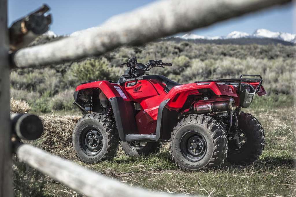 2017 Honda FourTrax Rancher 4x4 ES Red (TRX420FE1)