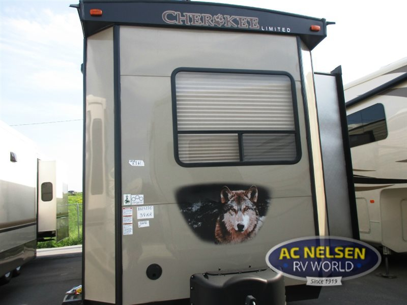 2017 Forest River Rv Cherokee Destination Trailers 39KR