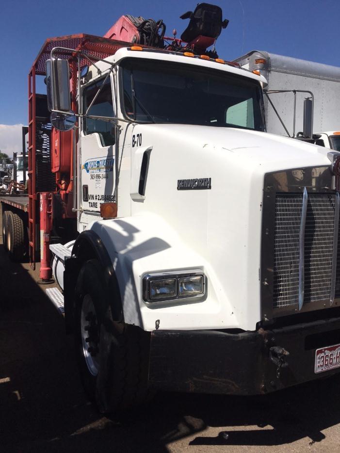 2001 Kenworth T800 Crane Truck