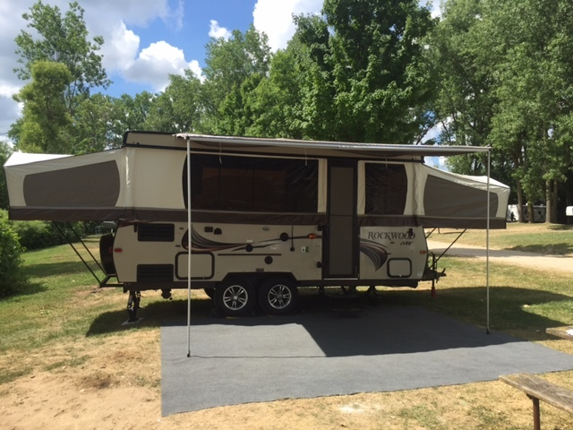 2015 Forest River Rockwood High Wall HW296
