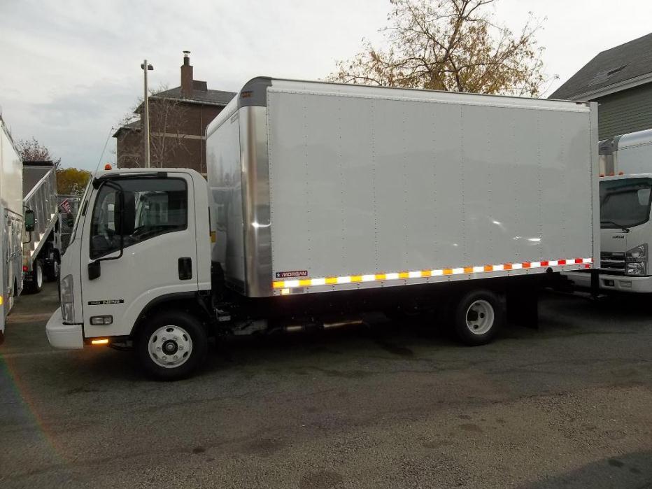 2016 Isuzu Npr-Hd Gas  Box Truck - Straight Truck