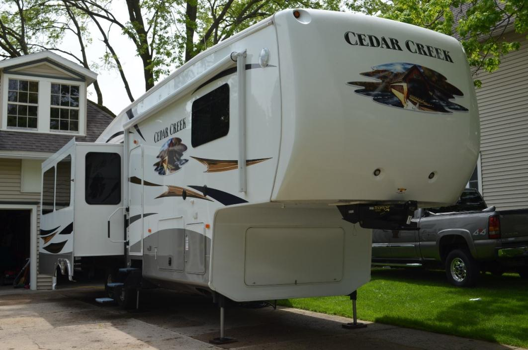 2012 Forest River Cedar Creek Fifth Wheel 34RL