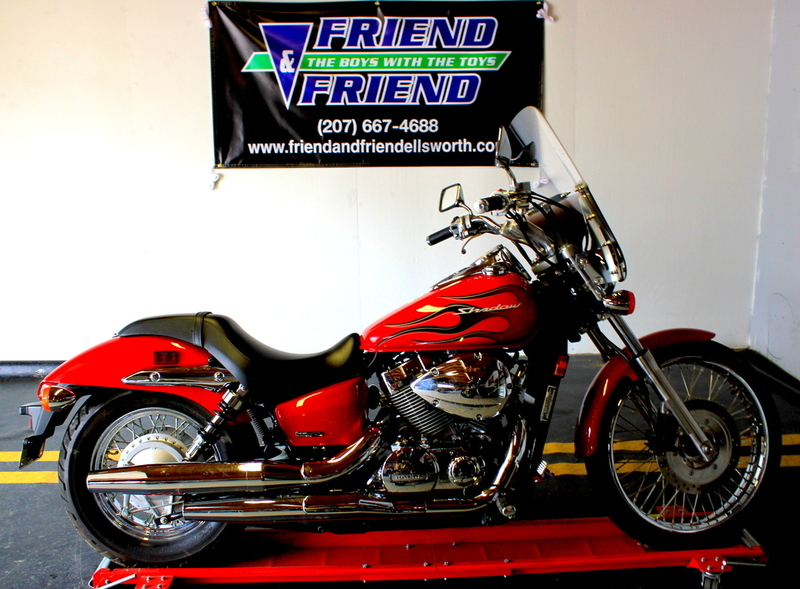 Honda shadow spirit 750 motorcycles for sale in maine for Honda motorcycle dealers maine