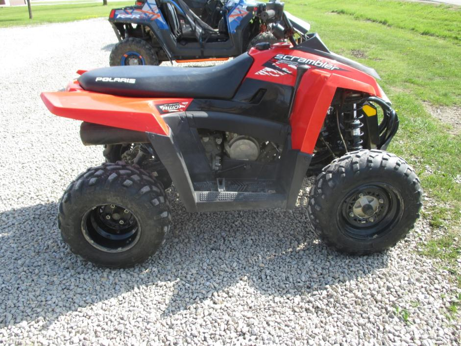 Polaris Scrambler 500 4x4 Motorcycles for sale