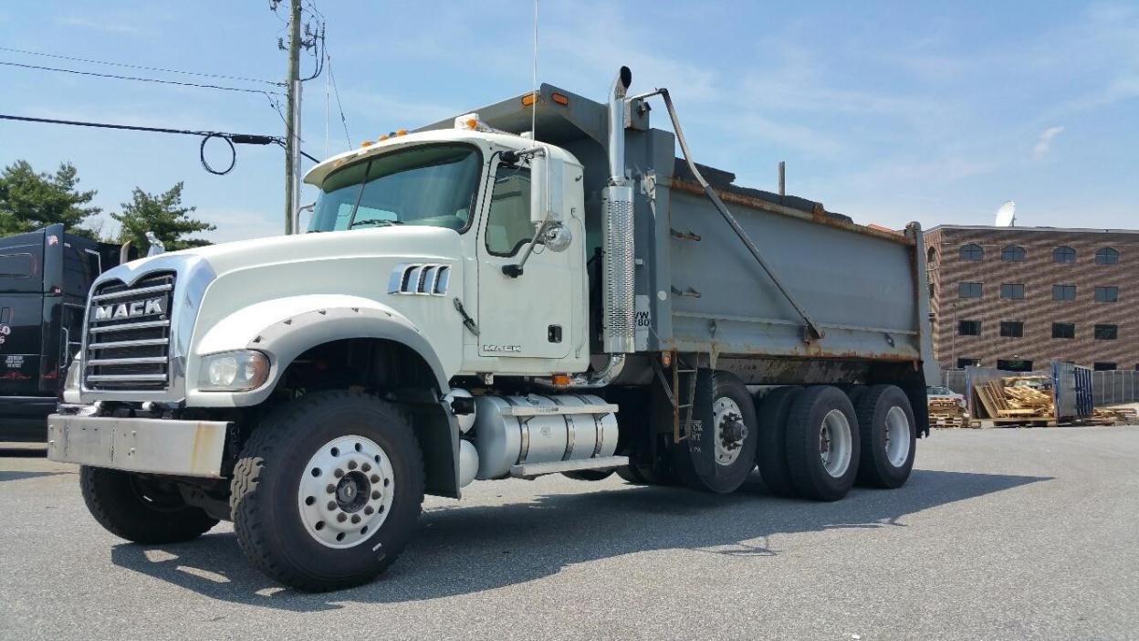 Dump Truck For Sale In Delaware 1954 Ford 2007 Mack Granite
