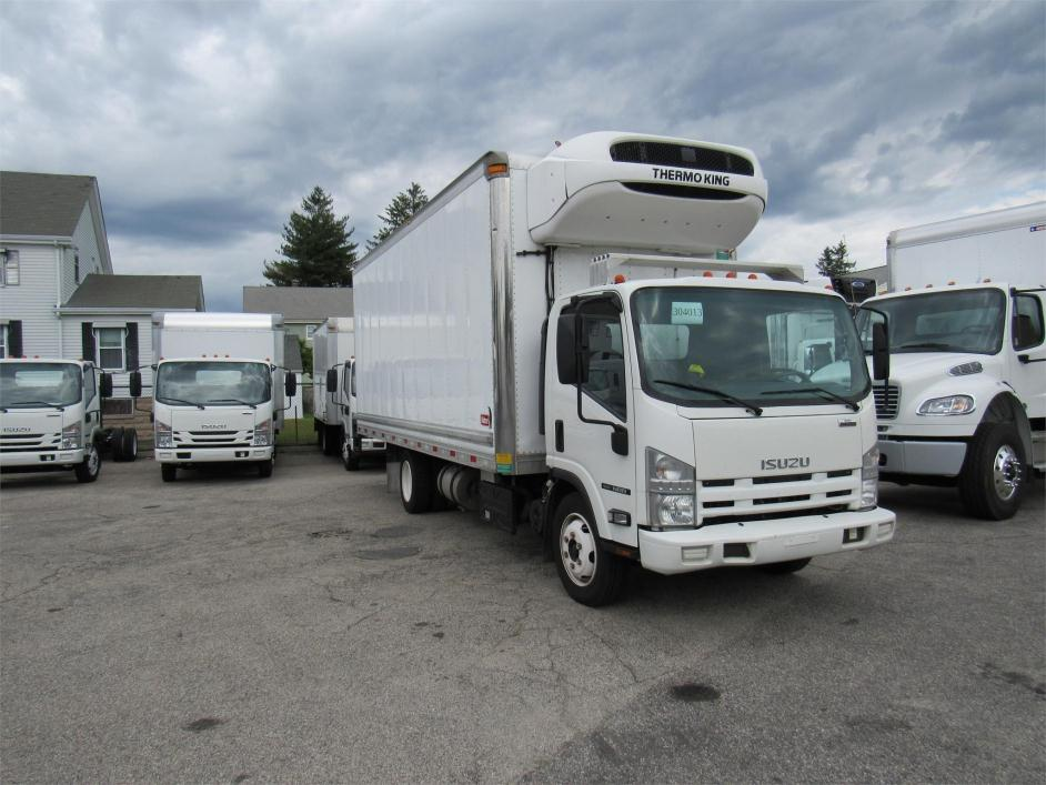 2013 Isuzu Npr  Refrigerated Truck