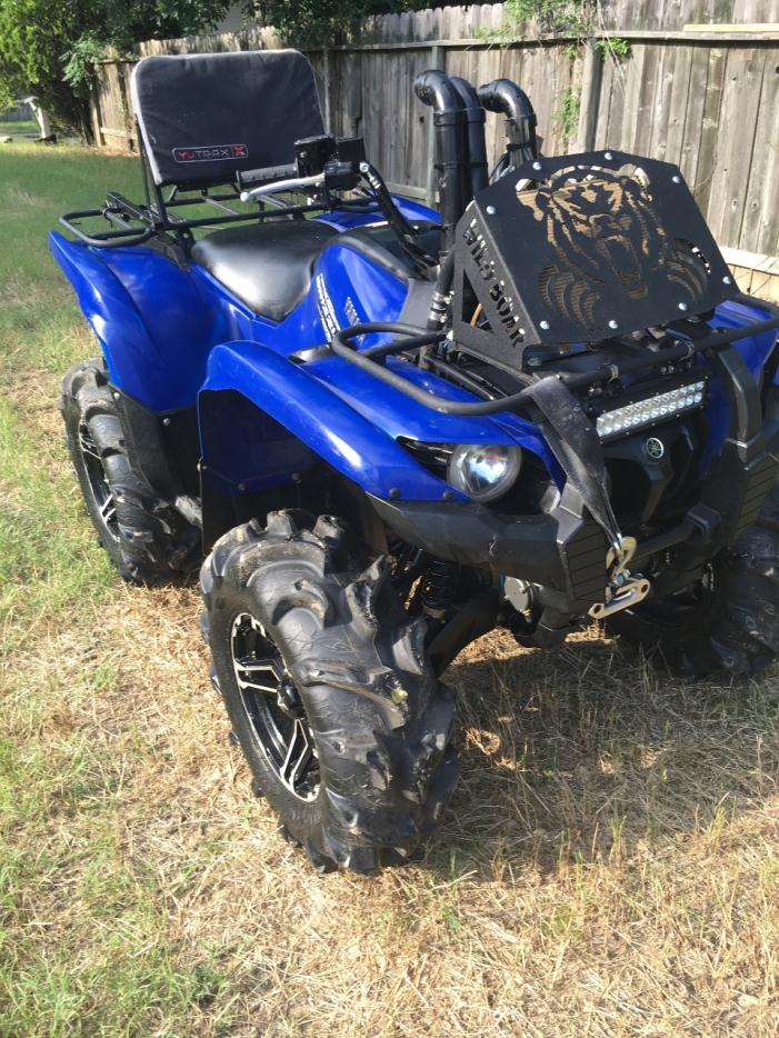 Yamaha grizzly 700 fi auto 4x4 eps grizzly 70 motorcycles for Yamaha grizzly 700 for sale