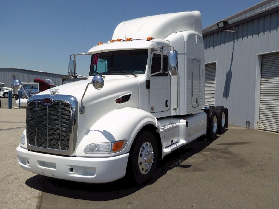 2012 Peterbilt 386 Cabover Truck - Sleeper