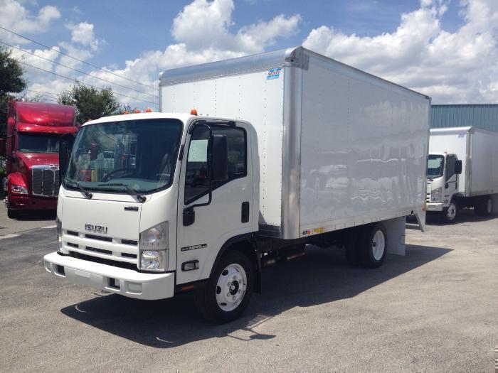 2015 Isuzu Npr-Hd  Box Truck - Straight Truck