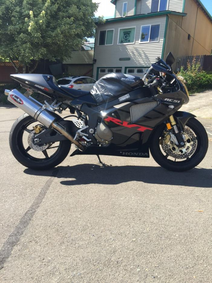 Honda rc51 motorcycles for sale in portland oregon for Honda portland oregon