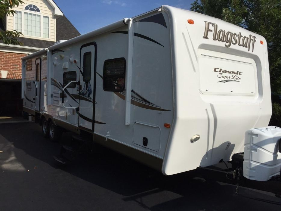 2013 Forest River Flagstaff Classic Super Lite 831BHDS