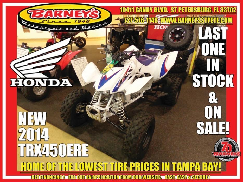 450 race quads motorcycles for sale for Honda dealership st petersburg fl