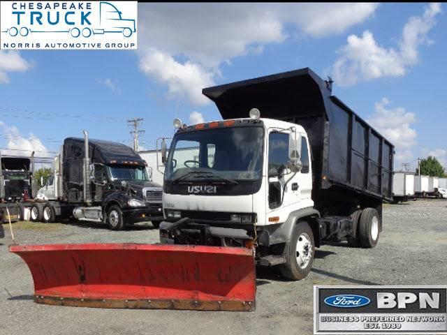 2002 Isuzu Ftr Dump Truck