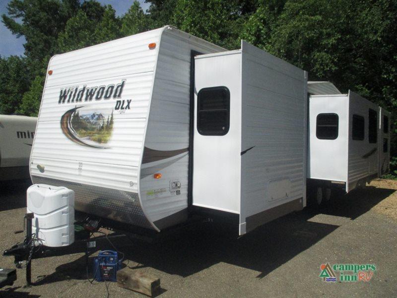 2012 Forest River Rv Wildwood DLX 402QBQ