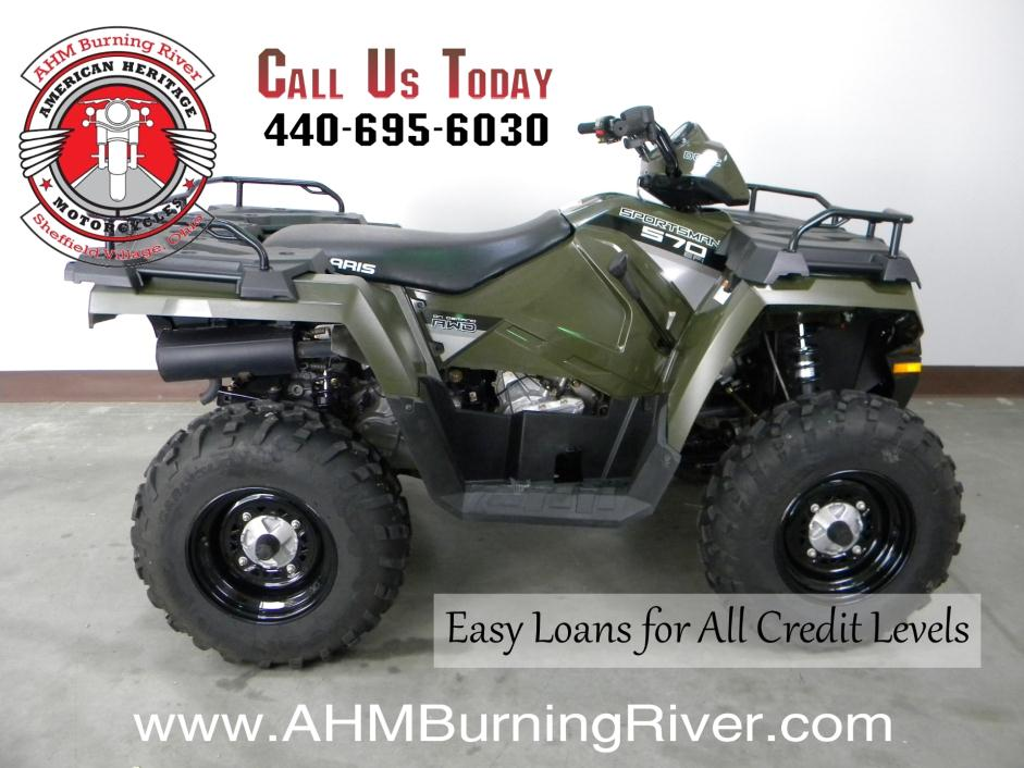 2014 Polaris Sportsman 570 EPS