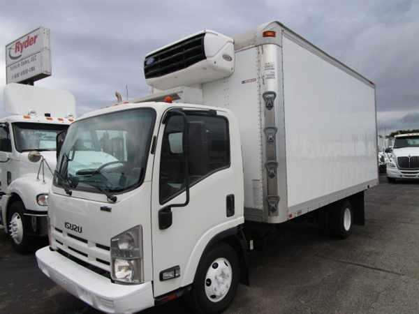 2009 Isuzu Npr Hd  Refrigerated Truck