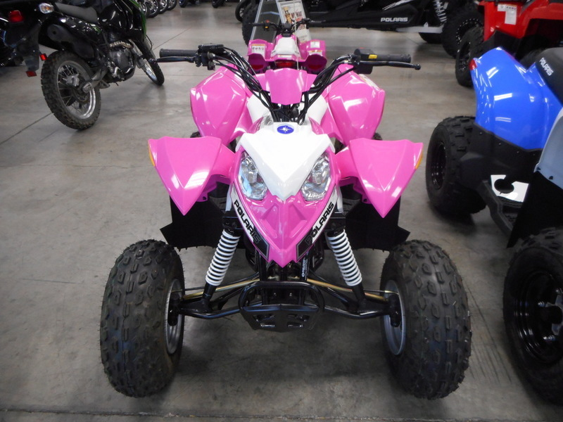 2016 Polaris Outlaw 110 EFI Pink Power