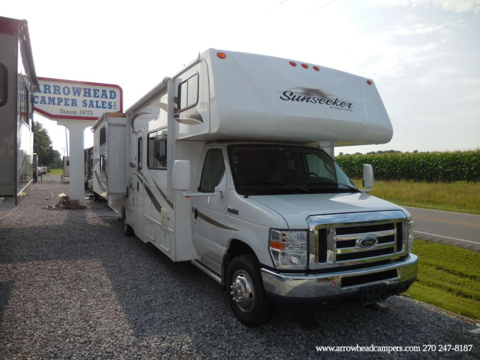 forest river sunseeker rvs for sale in mayfield kentucky. Black Bedroom Furniture Sets. Home Design Ideas