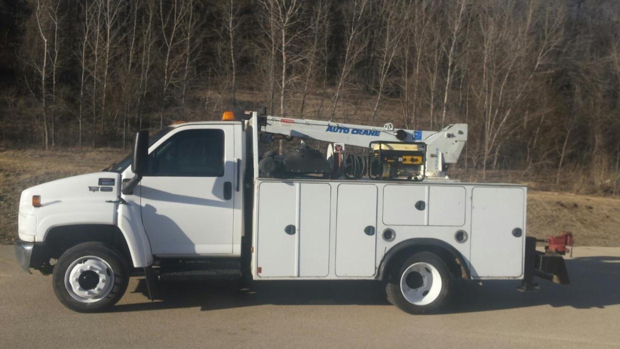 2005 Gmc Topkick C5500 Utility Truck - Service Truck