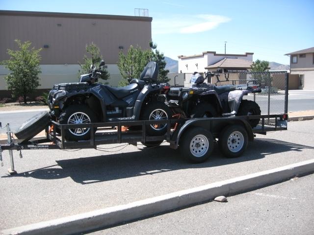 2006 Polaris GRAVELY 5X16 ATV TRAILER