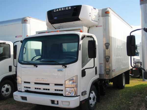 2011 Isuzu Npr Hd Refrigerated Truck