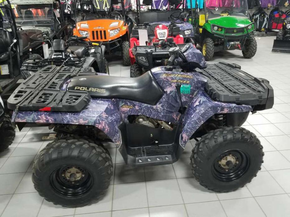 polaris sportsman 450 browning hunter edition motorcycles for sale. Black Bedroom Furniture Sets. Home Design Ideas