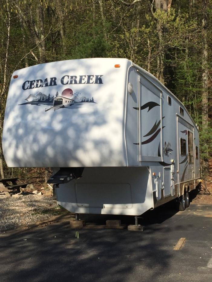 2006 Forest River Cedar Creek Fifth Wheel 36BTS