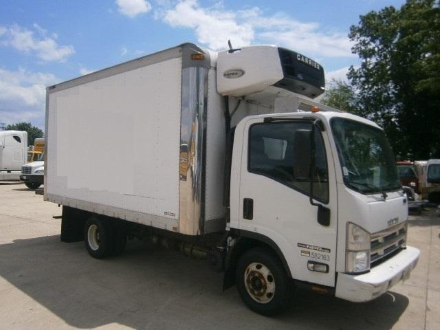 2010 Isuzu Npr  Refrigerated Truck