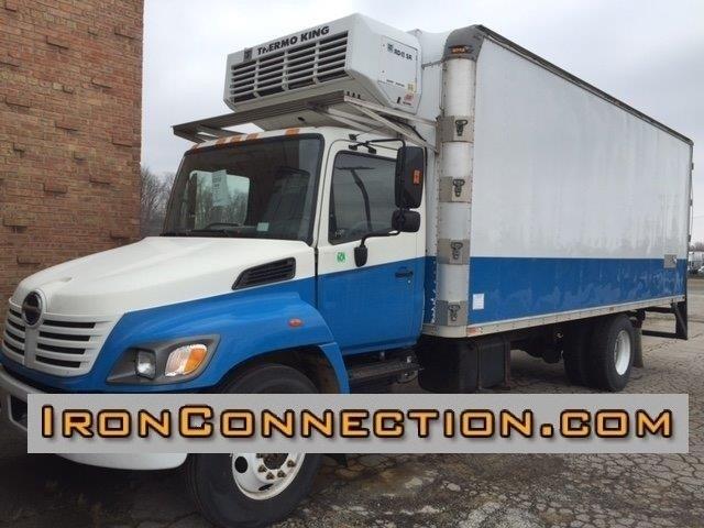 2005 Hino 338 Refrigerated Truck