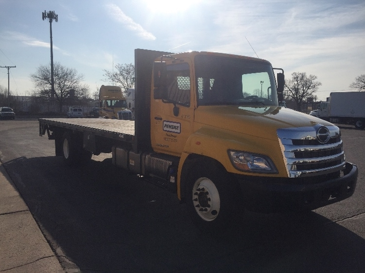 2012 Hino 268 Flatbed Truck