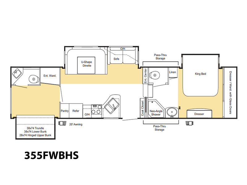 Keystone Copper Canyon 355fwbhs Rvs For Sale