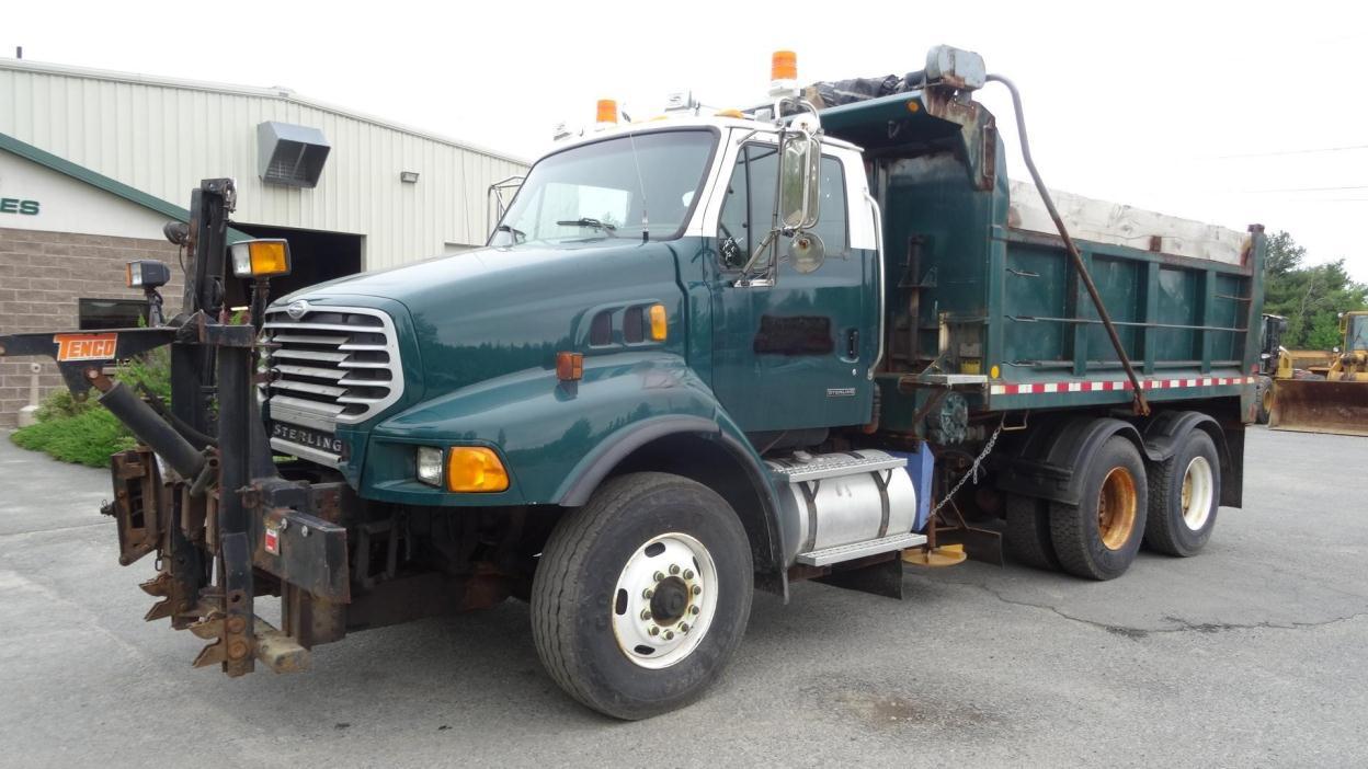 2002 Sterling Lt9500  Plow Truck - Spreader Truck
