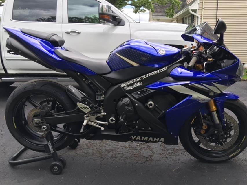 2017 Yamaha YZ250F Team Blue