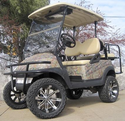 2012 Club Car 48V Real Tree Leaf Precedent Lifted Golf Cart