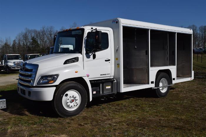 2017 Hino 268a Beverage Truck