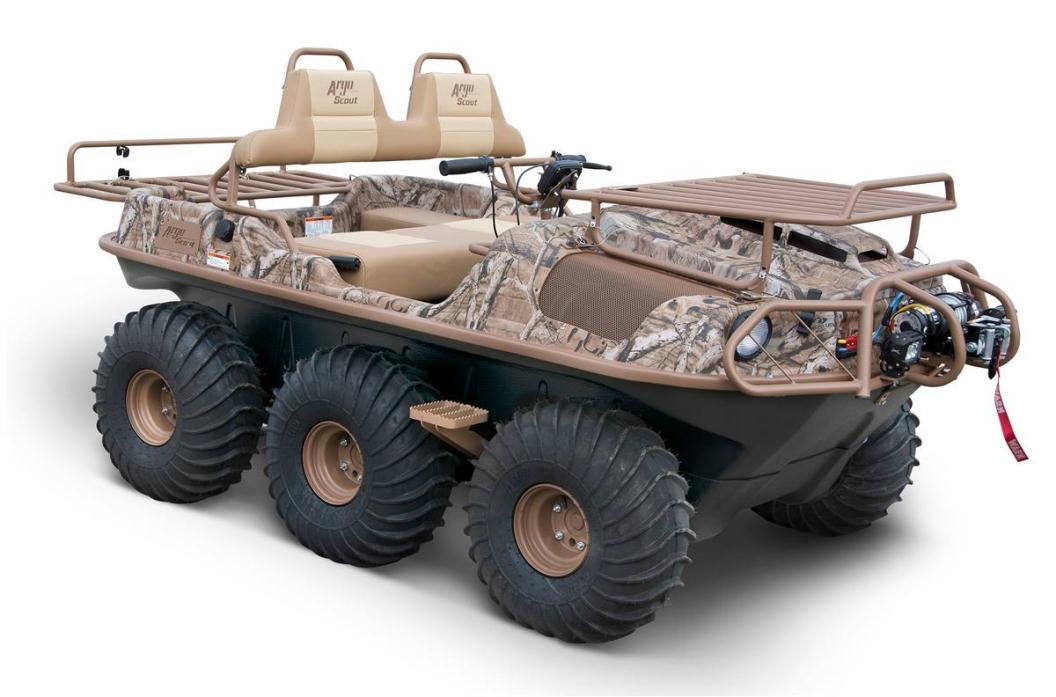 2016 Argo Scout 6x6